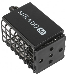 Mikado FEEDER - QUADRAT MIT BODEN  (25x30x44) - DUNKLE OLIVE Feederkorb