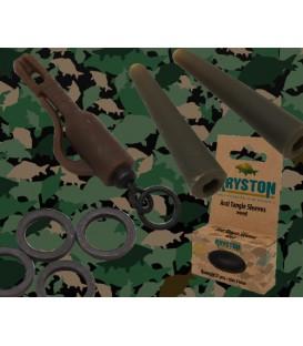 Kryston KR-AC44Bait screw 15mm black, 10pc