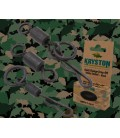 Kryston KR-AC55Quick Change O-Ring Swivel #10 black, 8pc