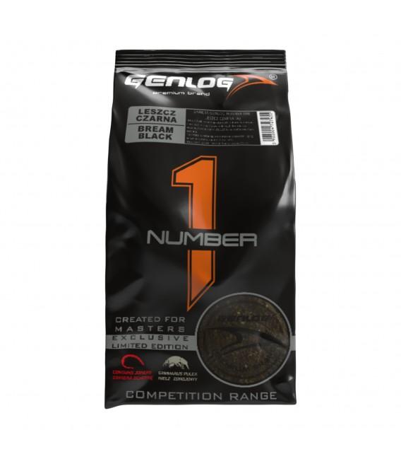 Genlog Number One Futtersortiment zum Sonderpreis   5x1Kg Brasse schwarz Fertigfutter