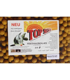 Top Secret Feederboilies Futterboilies 10kg Karpfen 21 Sorten 2,40€/1Kg
