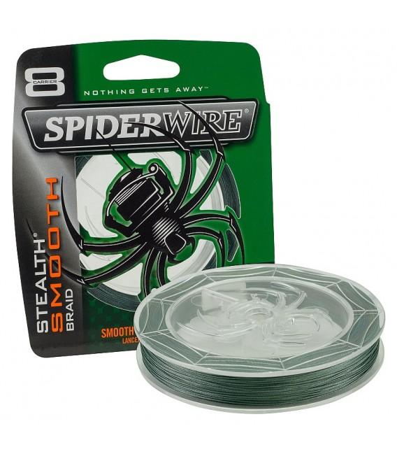 SpiderWire Stealth Smooth Moss Grün